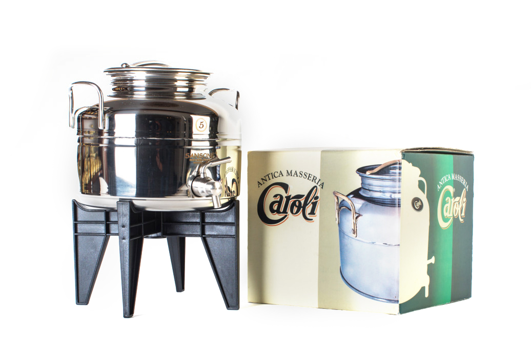 caroli-fusti-olio-acciaio-inox